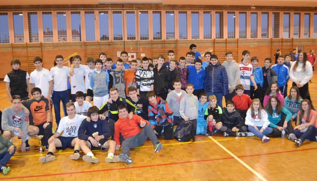 Broche a la cita con el fútbol sala impulsada en Mendavia