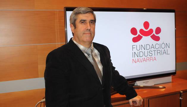 Miguel Iriberri, presidente de la Fundación Industrial Navarra