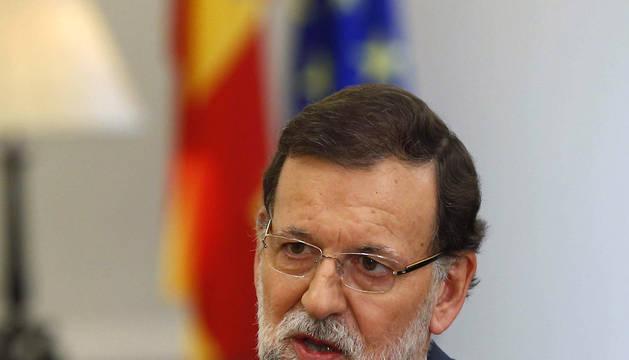 Rajoy ha considerado hoy que el anuncio de elecciones anticipadas en Cataluña realizado por Artur Mas supone