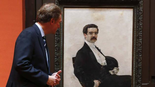'Retrato de don Juan Antonio García del Castillo', de Sorolla