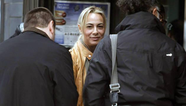 La exalcaldesa de Alicante Sonia Castedo, en las proximidades a los juzgados de Benalúa