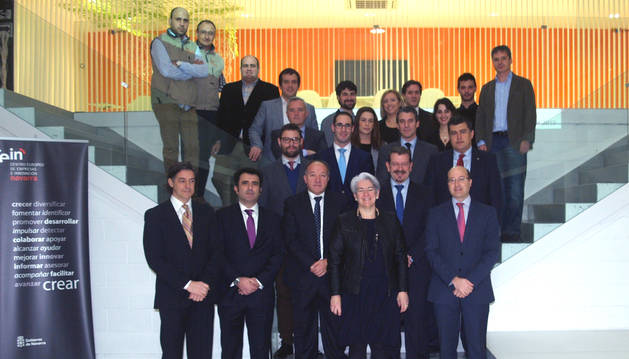 Los participantes en la clausura del programa.