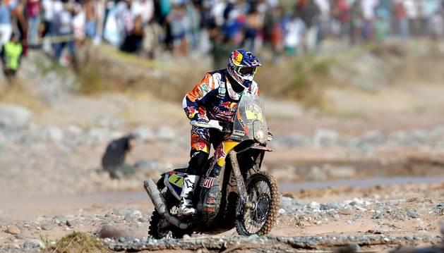 Marc Coma, en el Dakar