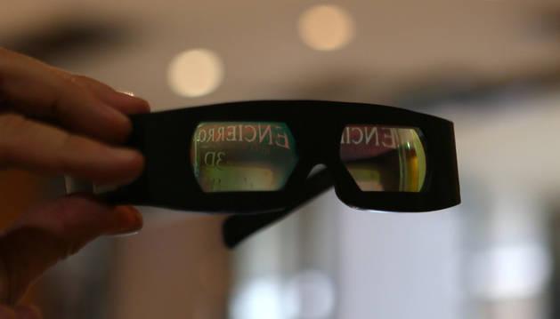 Gafas que se utilizan para ver películas en 3D