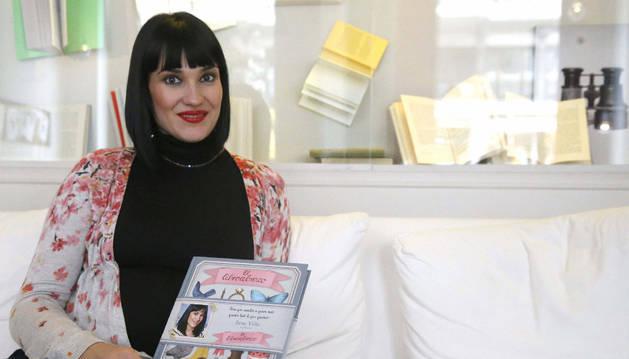 Irene Villa, con su nuevo libro