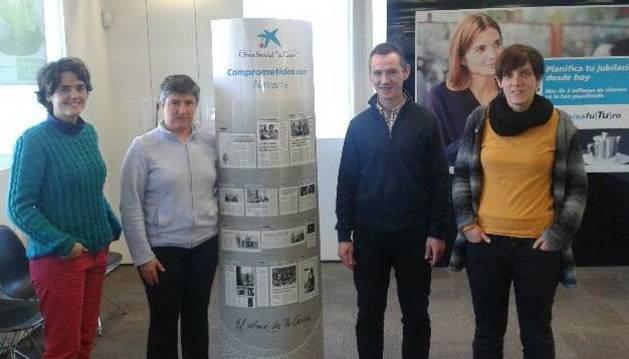 La Caixa aporta 10.000 € a programas sociales en Baztan