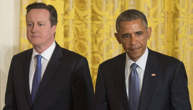 David Cameron y Barack Obama