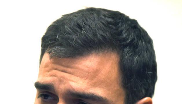 Sánchez, en una conferencia durante su visita a Washington.