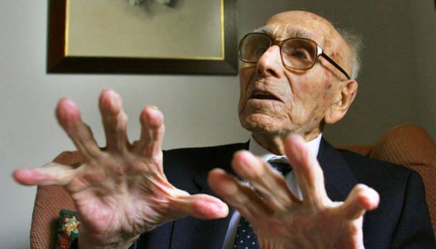 Uno de los hombres más ancianos del mundo