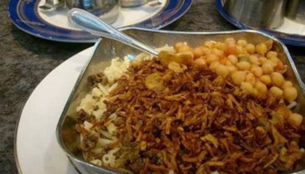 Un plato de koshari
