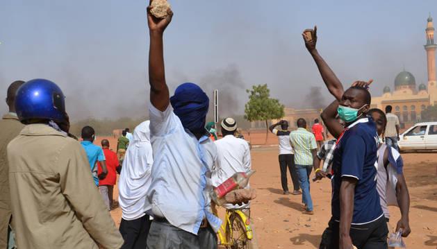 Protestas en Níger contra las viñetas de 'Charlie Hebdo'