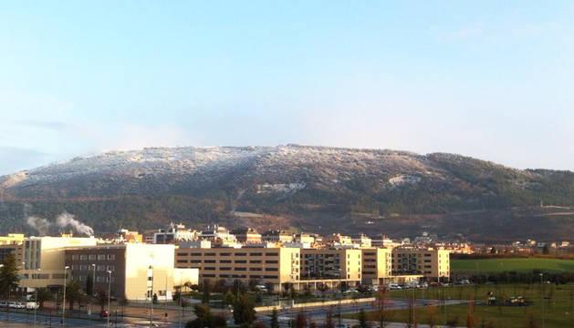Toda Navarra, salvo la Ribera, en alerta por nieve este fin de semana