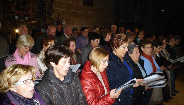 Cintruénigo celebra la Novena de la Virgen de la Paz