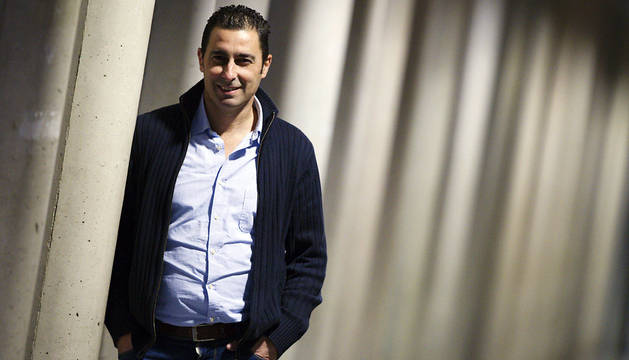 El candidato a la secretaría general de Podemos en Navarra Joan Josep Bosch.