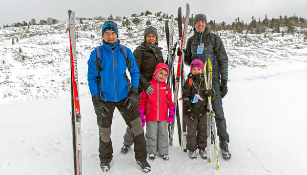 Desde Zizur a Belagua para practicar el esquí de fondo