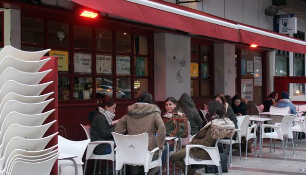 En la cafetería de Pio, la pasada semana