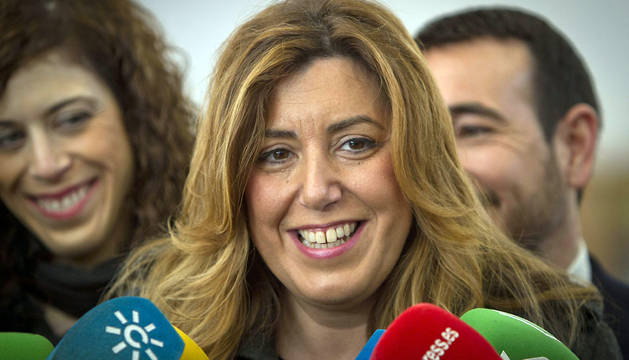 Susana Díaz, en Jerez de la Frontera.