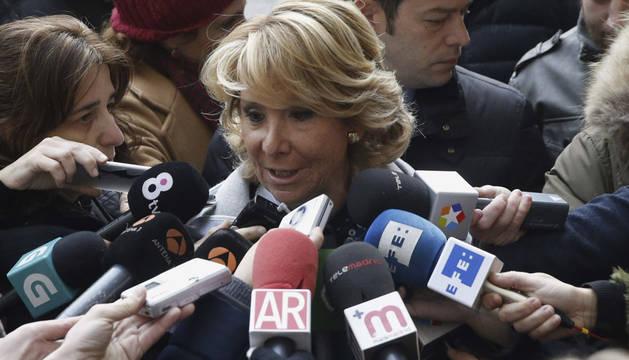 Aguirre afirma que Podemos busca amedrentar y cobrar con su querella