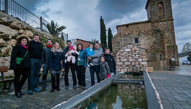 La merindad de Estella gana 3.000 habitantes en el S. XXI