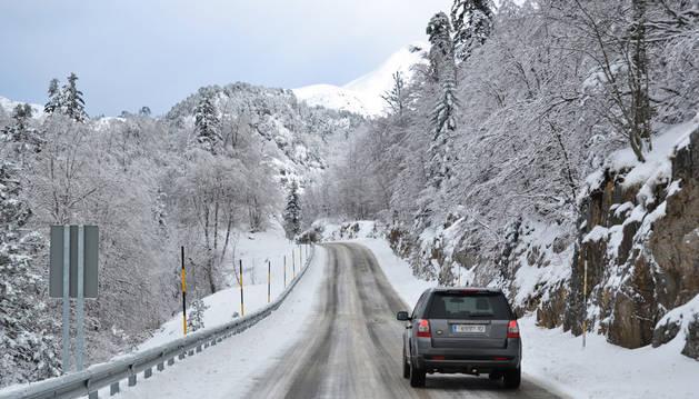 Erremendia registra la noche más fría en Navarra y tirita a -11,8ºC