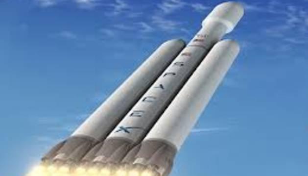 El Falcon, el cohete más pesado desde las misiones Apolo