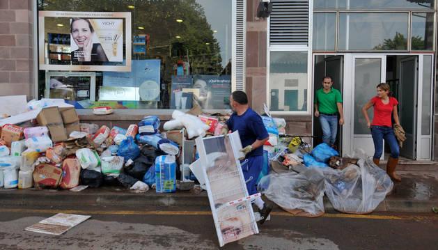 La alerta se desactivó en Baztan cuatro horas antes de la inundación