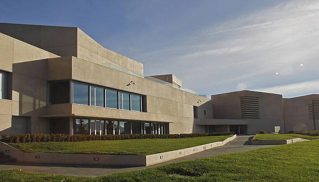 Vista del Museo Universidad de Navarra.