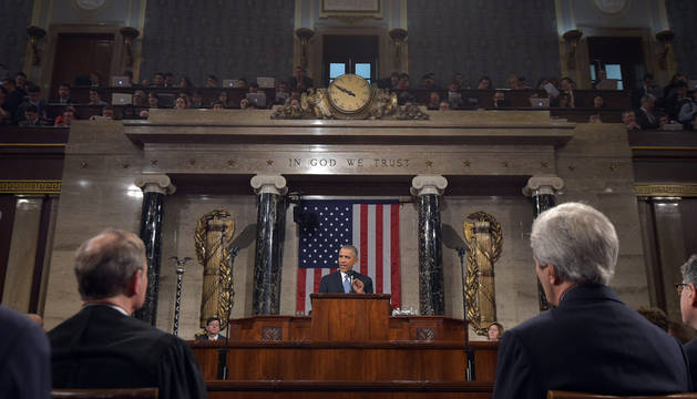 Obama pide una economía de la clase media en el Estado de la Unión
