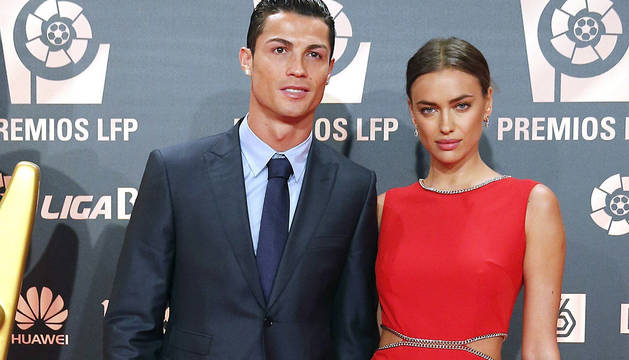 Imagen del pasado 27 de octubre de Ronaldo e Irina Shayk.
