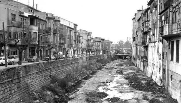 El Muro, unido el río Queiles