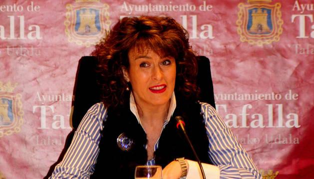 Cristina Sota Pernaut, alcaldesa de Tafalla