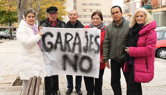 Llega al pleno el proyecto de aparcamiento en Barañáin