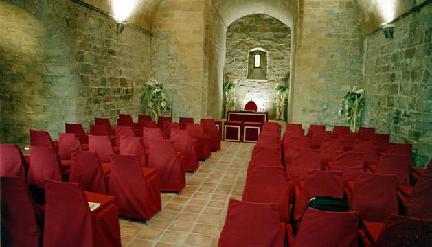 Sala para bodas civiles en la Ciudadela.