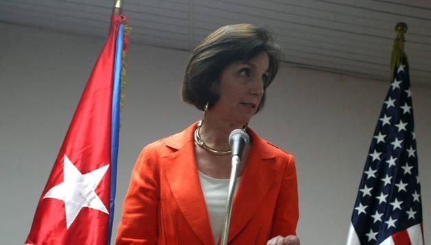 La secretaria de EE UU para América Latina, Roberta Jacobson, este jueves
