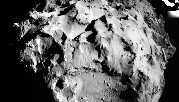 La sonda Rosetta descubre un cometa 67-P casi 'vacío'