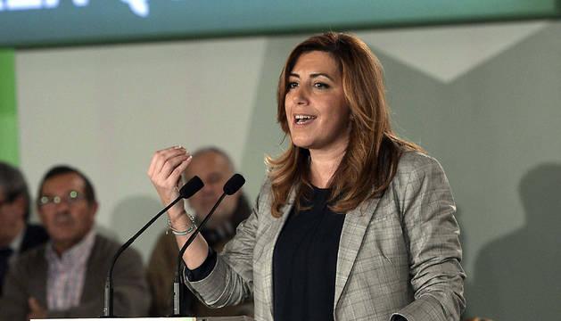Susana Díaz, en un acto en Córdoba.