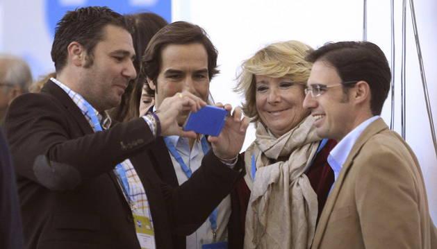 Esperanza Aguirre, en la Convención Nacional del PP