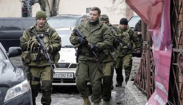 El líder de los separatistas prorrusos de Donetsk, Alexandr Zajárchenko.