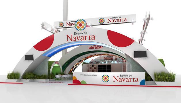 Imagen del stand de Navarra.