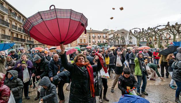 Los Arcos celebra San Vicente con agua y sabora despedida municipal