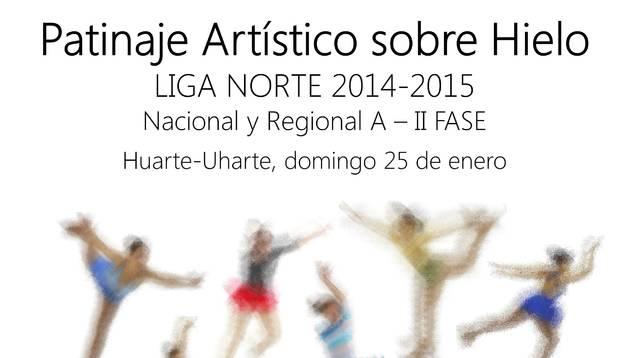 Huarte acoge una competición de patinaje sobre hielo este domingo