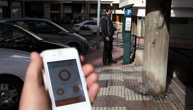 El pago con móvil en la zona azul suma 461 operaciones en 9 días