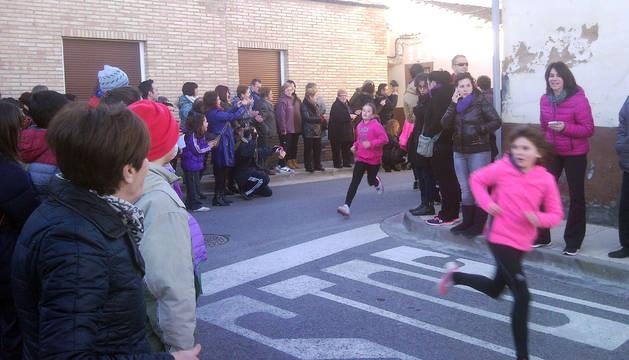 Los alumnos del colegio público de Ablitas celebran la fiesta de San Babil