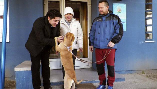 'Alma', el nuevo perro de Teresa Romero