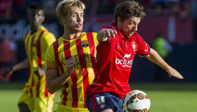 Sisi, contra el Barcelona B