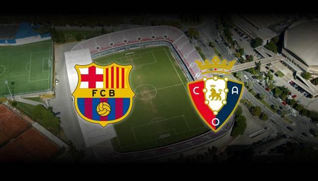 Retransmisión en directo del Barcelona B-Osasuna
