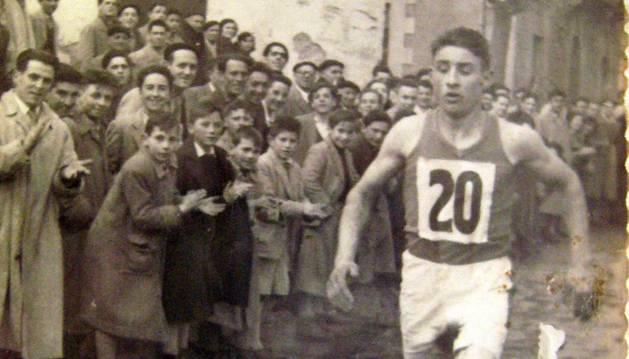 Lucas Larraza, en una de sus participaciones