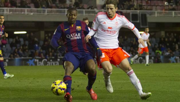 Olavide, contra el Barcelona B