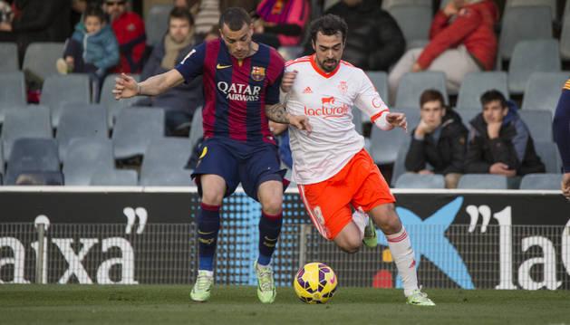 De las Cuevas, contra el Barcelona B