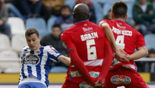Oriol Riera, contra el Granada
